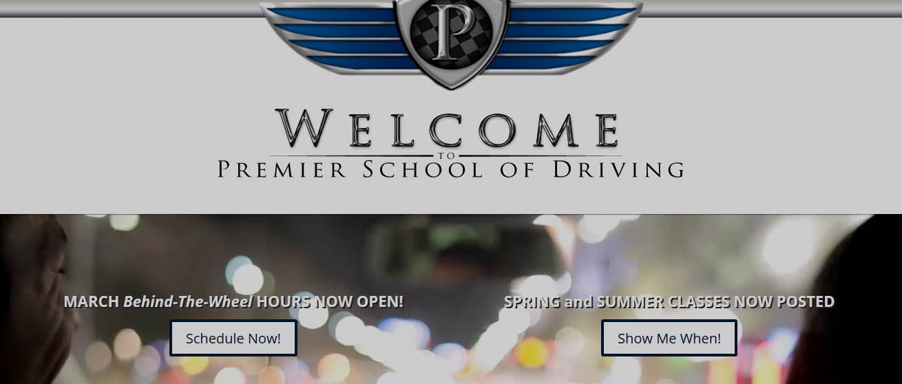 School of Driving  Website Design