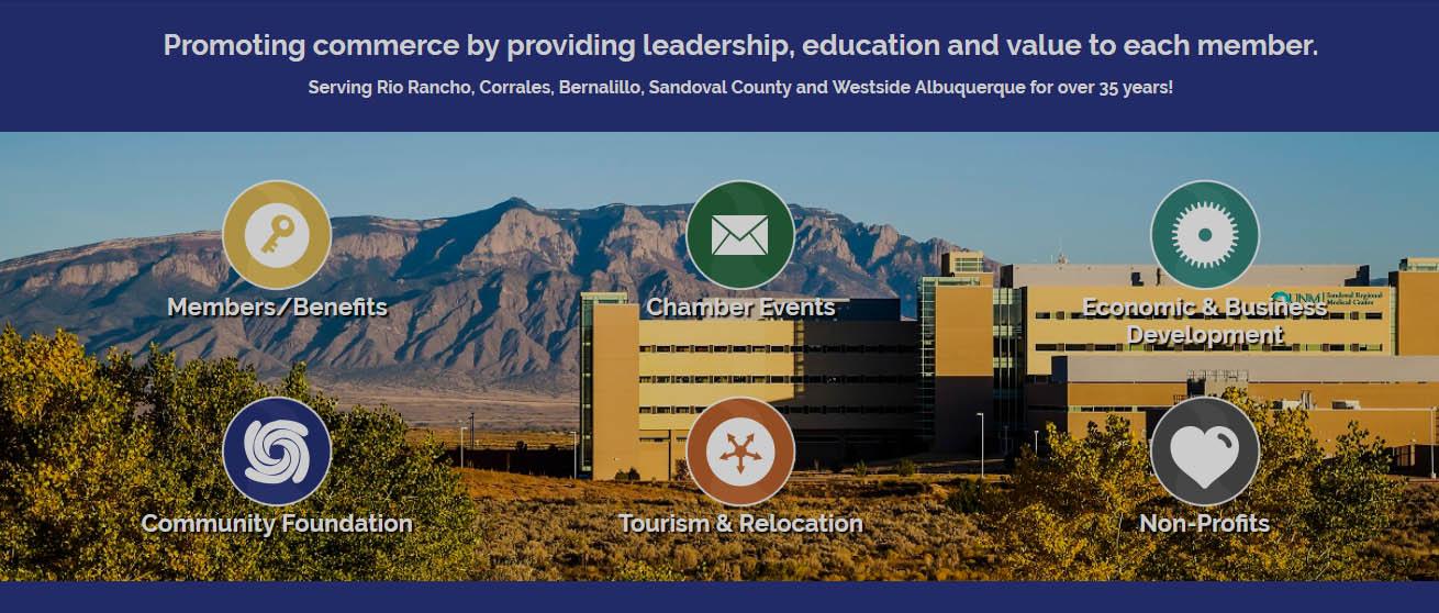 Chamber  Website Design
